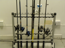 An image of a rods,reels and terminal tackle