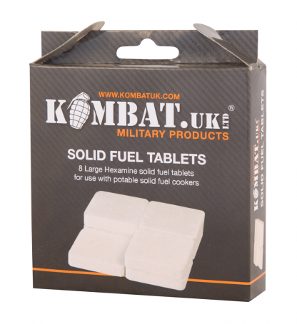 An image of a Solid Fuel Tablets (pack of 8)