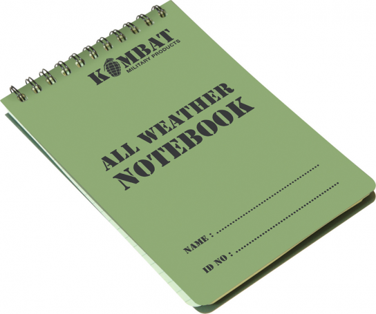 An image of a A6 Waterproof Notepad