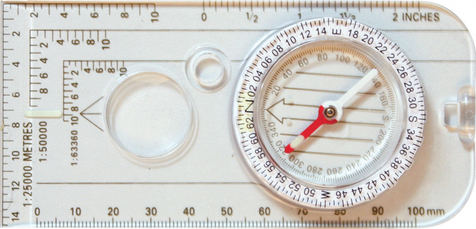An image of a Military Map Compass